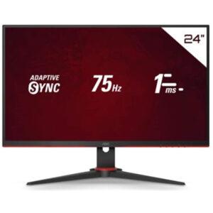 "Monitor Gamer AOC Speed 23,8"" 24G2HE5 75Hz FHD 1ms"