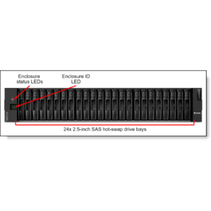 Storage Lenovo DCG DE2000H FC/ISCSI Dual Ctr SFF